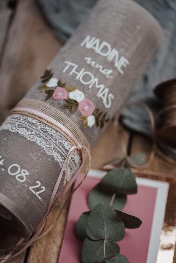 Blumenranke Rosa