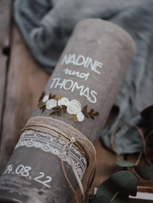 Blumenranke Elfenbein